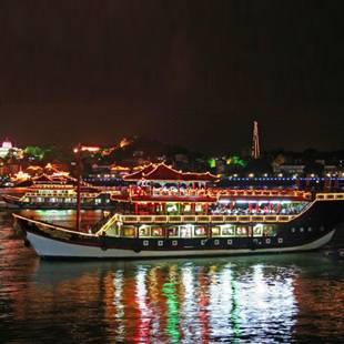 鹭江夜游船