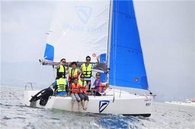 厦门旅游五缘湾帆船出海体验一小时船票(当天可预定)