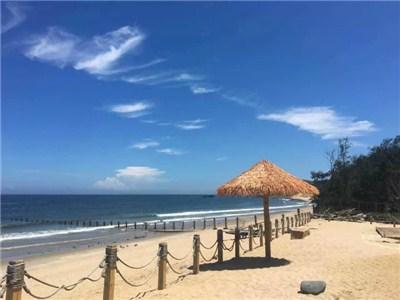 白塘湾古火山口丛林骑行、海滩滑沙趣味休闲一日游(4人起订)