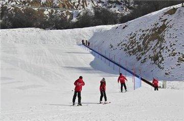 九顶山太子岭滑雪场