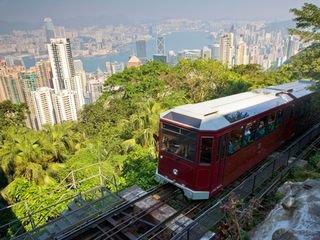 <香港1日游>太平山夜景 双程缆车 杜莎夫人蜡像馆 摩天台