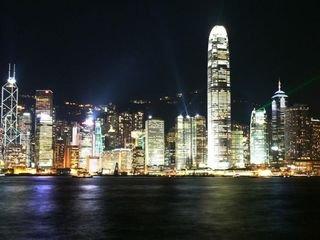 香港观光-大型游船游览维多利亚海港夜景-1日游