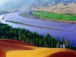 <宁夏中卫沙坡头1日游>感受腾格里大沙漠的雄浑、壮美