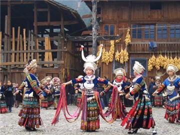 黎苗民族歌舞长廊