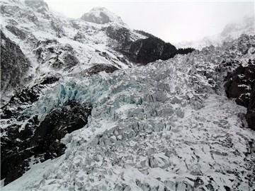 梅里雪山.明永冰川