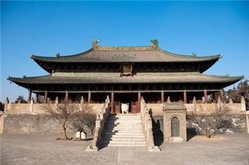 北岳庙旅游简介