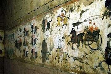 霍承嗣墓壁画