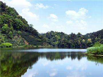 蒲江朝阳湖风景区