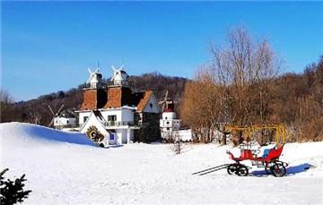 亚布力风车山庄滑雪场