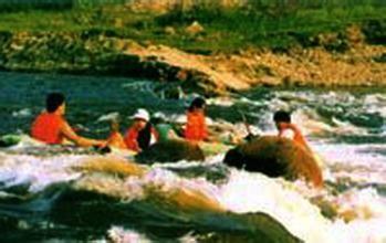 美溪金沙河漂流河段