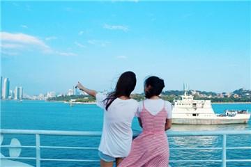 厦门鼓浪屿往返过渡船票+漳厦海上游联程票(往返)多时间段可选